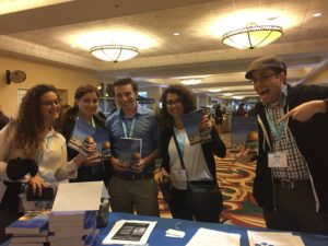 Hillel Israel Fellows with their copies of Dreams Deferred.